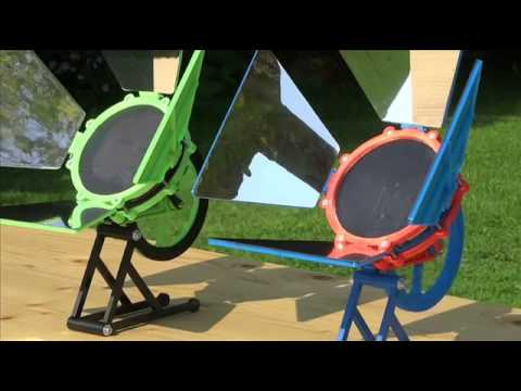 3D Printed Solar Powered Stirling Engine