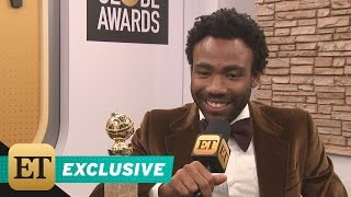 EXCLUSIVE: Donald Glover on His Migos Shoutout at the Golden Globes: