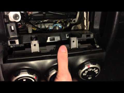 Honda CR-V Climate Control HVAC/Heater/AC Bulb Light Replacement (2003 CR-V EX)