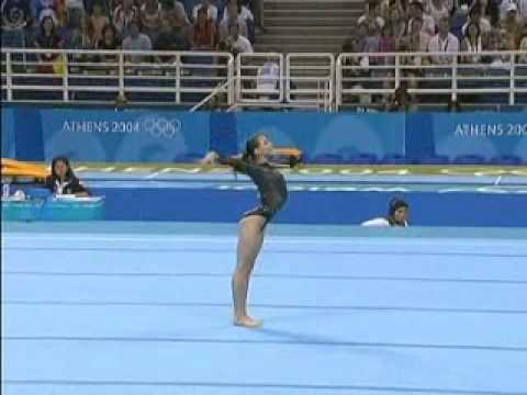 Olympic Champions - Athens 2004 Floor - Catalina Ponor video