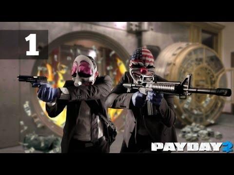 Прохождение PAYDAY 2 Co-op — Часть 1: Первое ограбление