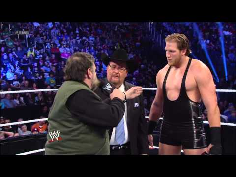 WWE Hall of Famer Jim Ross interviews Jack Swagger and Zeb Colter: SmackDown, March 1, 2013