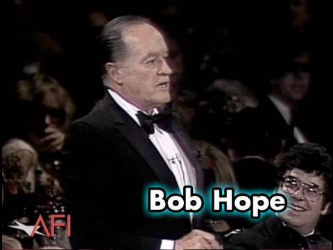 Bob Hope Reads Telegram From President Ronald Reagan To Frank Capra
