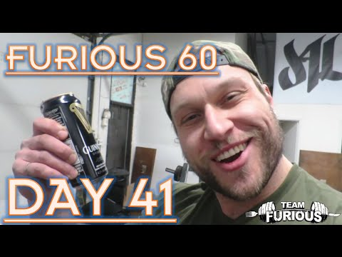BEER WORKOUT?   FURIOUS 60   DAY 41
