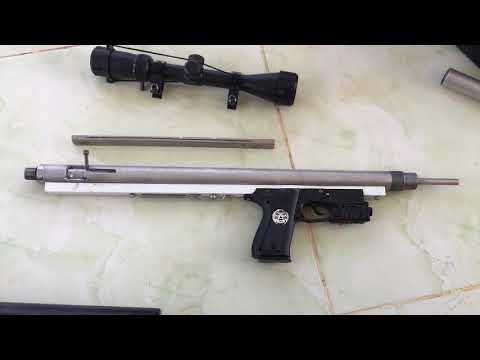My Making PCP Airgun Hunting (PCP Homemade Airgun) [[PCP Airforce Condor]]