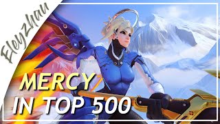 Playing Mercy in Top 500 - Mercy Season 25 (Overwatch)