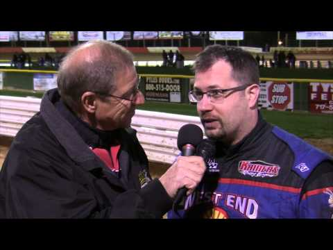 Lincoln Speedway 358 Sprint Car Victory Lane 4-25-15