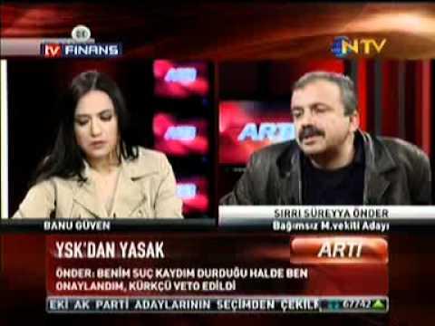 Sırrı Süreyya Önder Banu Güven'i konuşturmadı