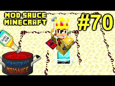 Minecraft Mod Sauce Ep. 70 - Extra Utilities 2nd Ritual !!! ( HermitCraft Modded Minecraft )