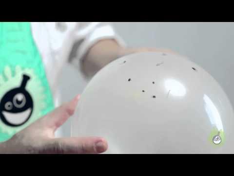 Научное шоу. Как проткнуть воздушный шарик так, чтобы он не лопнул.