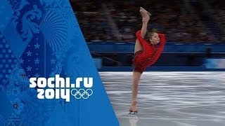 Yulia Lipnitskaya's Phenomenal Free Program - Team Figure Skating  Sochi 2014 Winter Olympics