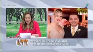 Antônia Fontenelle se irrita com desabafo de ex de Wesley Safadão