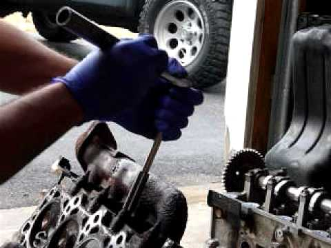 removing f150 exhaust manifold studs
