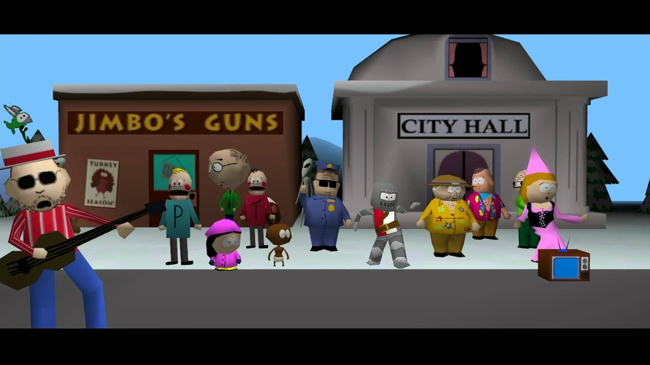 South Park pc Game 1999 hd