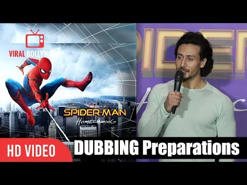 Tiger Shroff About His Dubbing For Spider Man Homecoming | Spider-Man Homecoming Hindi thumbnail