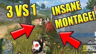 "BEST PLAYER VS 3 HACKER! ""INSANE SKILLS"" (Rules of Survival: Battle Royale) TeamPH"