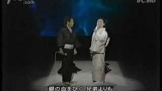 日本演歌界泰斗北島三郎和美空ひばり合唱 兄弟仁義
