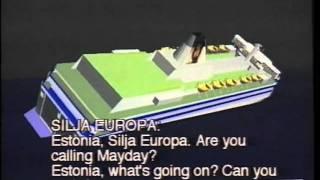 MV Estonia 1994, tapahtumien kulku, Overview of the accident event