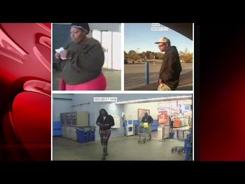 Credit card thieves shopped at Walmart