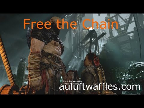Free the Chain Inside the Mountain The Journey God of War