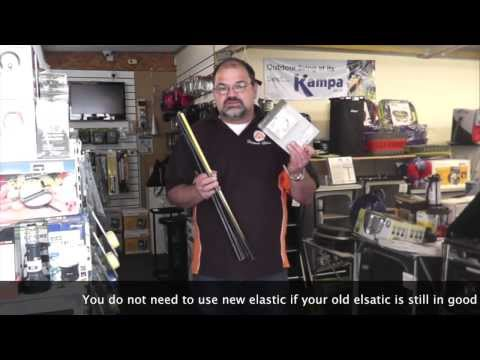 How to Repair and Replace a Fibreglass Tent Pole Section
