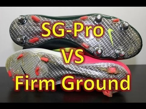 Nike SG-Pro VS Firm Ground Stud Pattern (Nike Mercurial Vapor VIII)