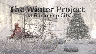 The Winter Project at Backdrop City in Second Life