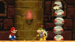 New Super Mario Bros DS Walkthrough - Part 2 - World 2
