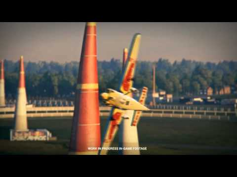 Red Bull Air Race The Game - Gamescom 2015 Announcement Trailer