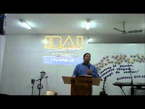 Pregação sobre dons espirituais Pastor Marcos Sá em 24.11.2013
