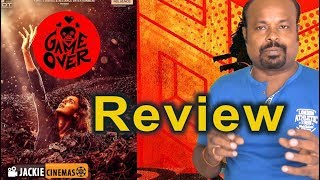 Game Over Tamil Movie Review By Jackie Sekar | Taapsee Pannu |  Ashwin Saravanan | #GameOver