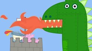 Peppa Pig Full Episodes | The Castle | Cartoons for Children