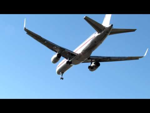 O'Hare Int'l Airport Planespotting - Rare Runway 22-Left Arrivals [12.12.2012]