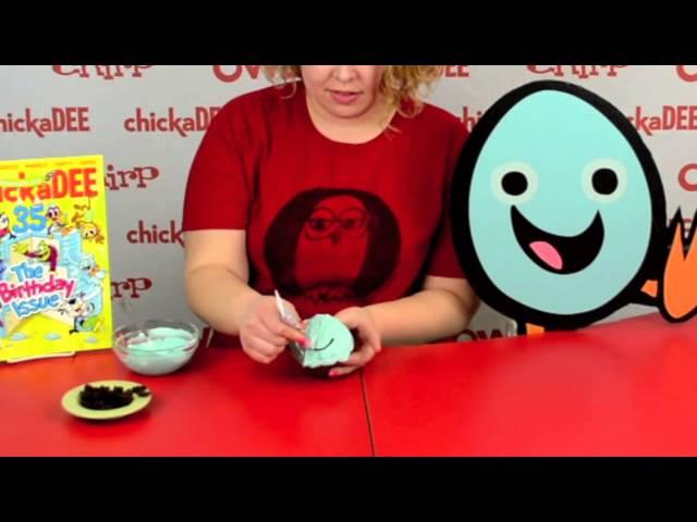 chickaDEE May Shelldon Cupcake
