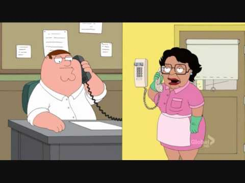 Family guy - number to housekeeper