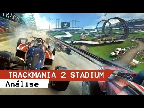 Analisando Novo TrackMania² Stadium PC - GAMEPLAY