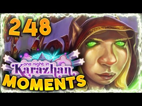 Hearthstone Karazhan Daily Funny and Lucky Moments Ep. 248 | Lucky Rogue Plays!!