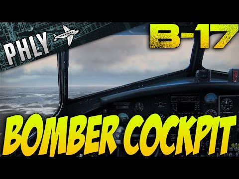 War Thunder - BOMBER COCKPIT! B-17 Gameplay - War Thunder Gameplay