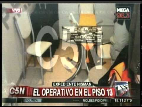 C5N - MUERTE DE NISMAN: FOTOS Y DETALLES INEDITOS DEL EXPEDIENTE
