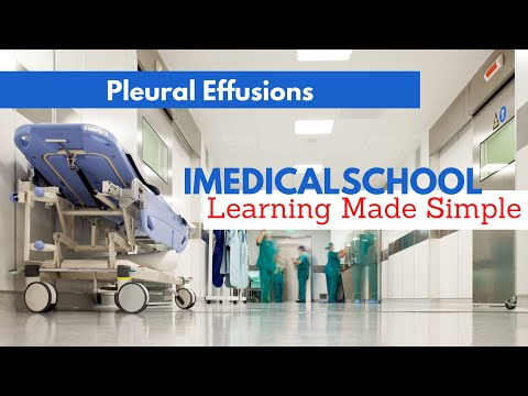 Medical School - Chest Xray - Pleural Effusions