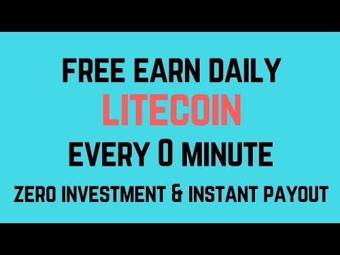Litecoin Free Earn Daily In Every 0 Minute | Instant Payout In Faucethub.io [ Hindi Video ]