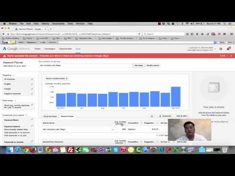 SEO Keyword Research | Google Adwords Keyword Planner