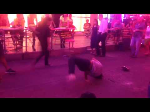 Break dancers @ Patpong Night Bazaar Bangkok