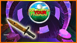 A HOLE IN ONE FOR A TIGER TOOTH KNIFE?!!! (Golf with YOUR Friends)