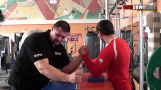 Training of armwrestling #60 - trening with Zoloev in ZEBRA club in Moscow.