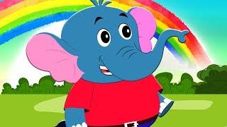 Hathi Dada Hindi Rhymes | हाथी दादा | Hindi Balgeet Songs | Kids Rhymes | Hindi Poems For Childrens