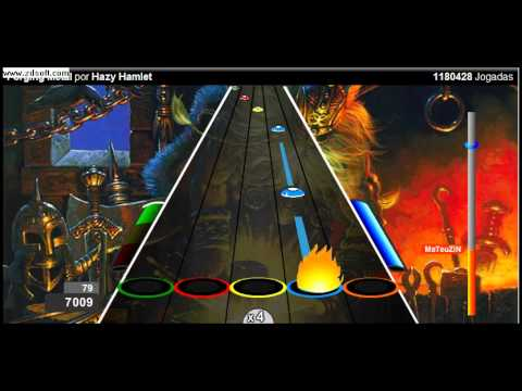 Rock Pesado No Guitar Hero Online.