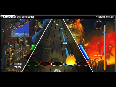 Rock Pesado No Guitar Hero Online.