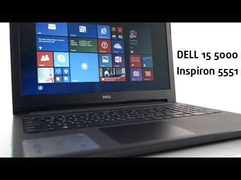 DELL Inspiron 5551 - 15 5000 Series. 2015 - video review
