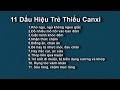 Dấu hiệu thiếu canxi ở trẻ nhỏ - Cách bổ sung Canxi từ tự nhiên - Hướng dẫn cách bổ sung Canxi thumbnail
